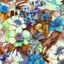 women - SCARVES AND LONG SCARVES - 70X180 SILK Campo di Fiori Blu 136_50__1.jpg