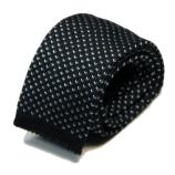men - TIES - KNITTED Augusto Blu
