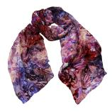 women - SCARVES AND LONG SCARVES - Devorè Luce Viola