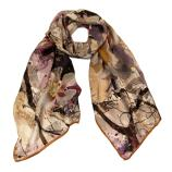 women - SCARVES AND LONG SCARVES - 45x180 Silk Valchiria Sabbia