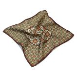 men - POCKET SQUARES - Pochette Virgilio Marrone