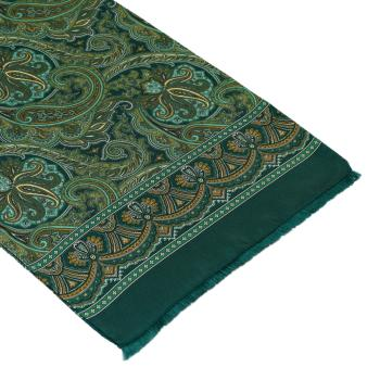 men - SCARVES - SILK Caravaggio Verde