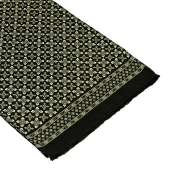 men - SCARVES - SILK Artemisia Nero