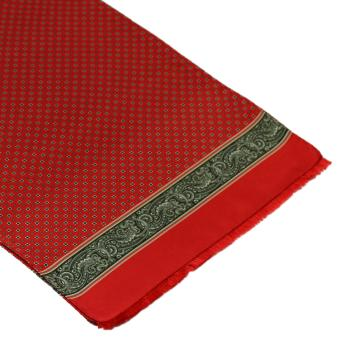 men - SCARVES - SILK Amedeo Rosso