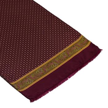 men - SCARVES - SILK Amedeo Bordeaux