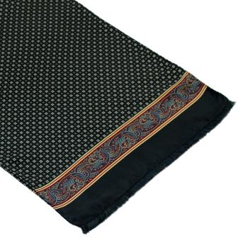 men - SCARVES - SILK Amedeo Blu