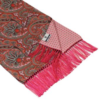 men - SCARVES - DOUBLE SILK Leonardo Rosa