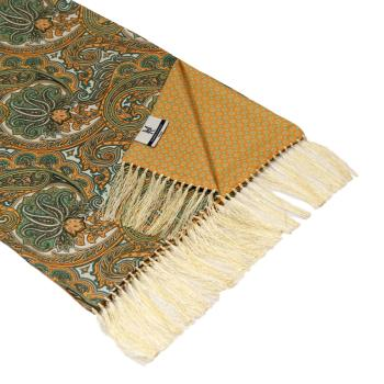 men - SCARVES - DOUBLE SILK Leonardo Sabbia