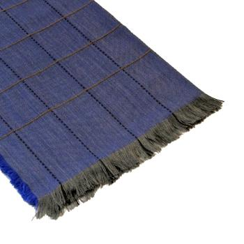men - SCARVES - WOOL Aurelio Blu