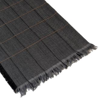 men - SCARVES - WOOL Aurelio Grigio