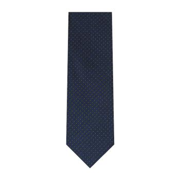 men - TIES - JACQUARD Spillo Blu Verde