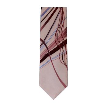 men - TIES - Printed Orlando Lilla Bordeaux