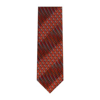 men - TIES - Pleated Anello Rosso