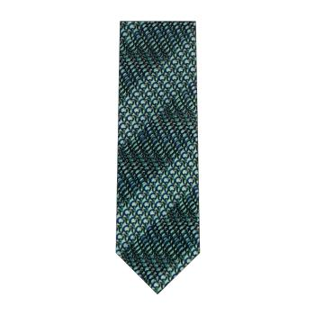 men - TIES - Pleated Anello Acqua Marina