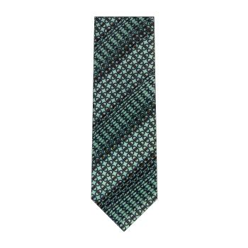 men - TIES - Pleated Staffa Celeste