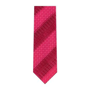 men - TIES - Pleated Maiolica Rosa Fucsia