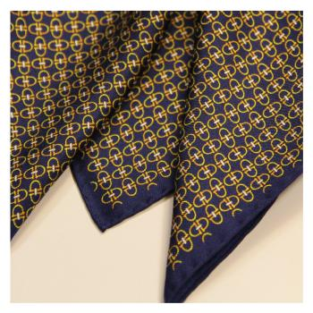 men - POCKET SQUARES - Hand Rolled AA0011OM Pochette in twill di seta 33 x 33 cm Made in Italy. Orlato a Mano.