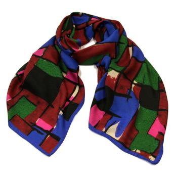 Long Scarf Mondrian