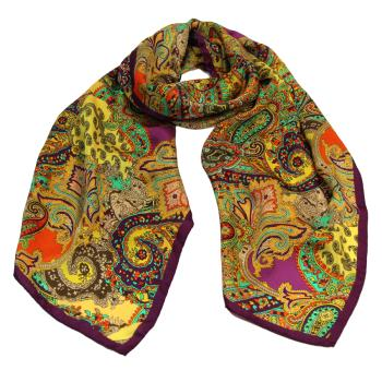 women - SCARVES AND LONG SCARVES - 45x180 Silk BF0707KK Arabesque