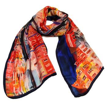 women - SCARVES AND LONG SCARVES - 45x180 Silk BF1000AM Amsterdam