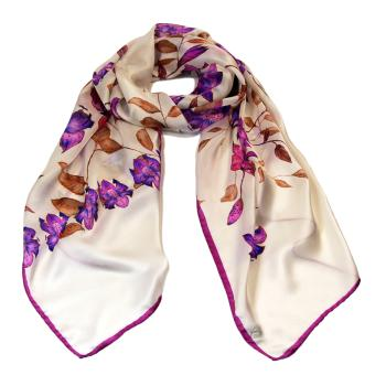 women - SCARVES AND LONG SCARVES - 45x180 Silk BF2000RA Maria