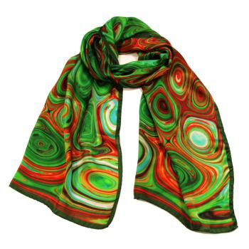 women - SCARVES AND LONG SCARVES - 45x180 Silk BF2020SC Astratto 70