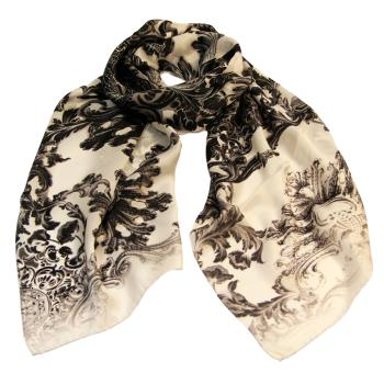 women - SCARVES AND LONG SCARVES - 45x180 Silk BF7522DA Decorazione Fiorentina