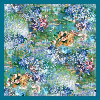 women - SQUARES - BP89117AZ Monet Colorato