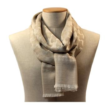 women - SCARVES AND LONG SCARVES - 70x200 wool cashmere silk FE1200XY Stola in lana seta cachemire 70x200 cm Made in Italy