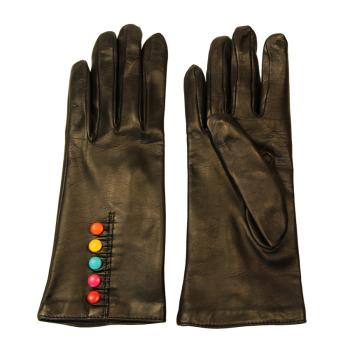 women - ACCESSORIES - GLOVES GD0004IR Nappa di pelle. Prodotto artigianalmente in Italia.