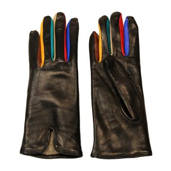 women - ACCESSORIES - GLOVES GD0007CA Nappa di pelle. Prodotto artigianalmente in Italia.