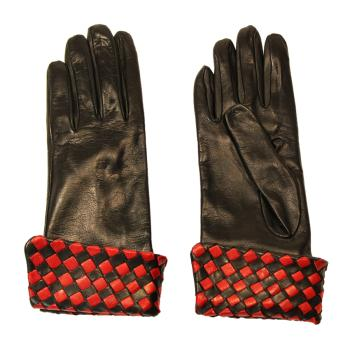 women - ACCESSORIES - GLOVES GD0009TA Nappa di pelle. Prodotto artigianalmente in Italia.