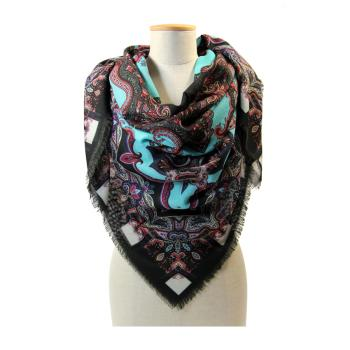 DONNA - FOULARD - 140X140 LANA Gran foulard in lana 140 x 140 cm Made in Italy