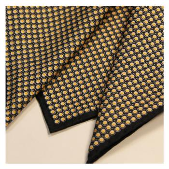 men - POCKET SQUARES - Hand Rolled Pochette in twill di seta 33 x 33 cm Made in Italy. Orlato a Mano.
