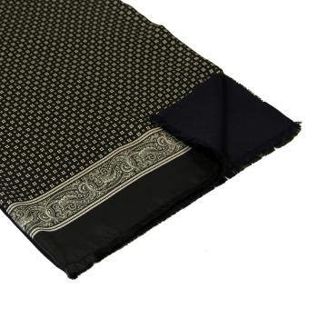 men - SCARVES - Silk lined in wool SE0001LA Sciarpa in twill di seta doppiata in lana 35x180 cm Made in Italy