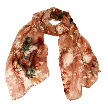 women - SCARVES AND LONG SCARVES - Devorè Sciarpa in seta e viscosa 45 x 180 cm Made in Italy