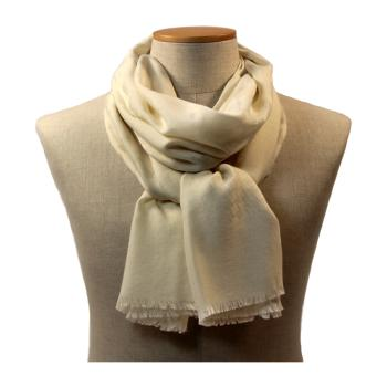 women - SCARVES AND LONG SCARVES - 70x200 wool cashmere silk Stola in lana seta cachemire 70x200 cm Made in Italy