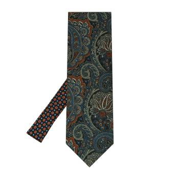 men - TIES - Printed Palacodino TI0001PC 100% seta stampata realizzata a mano in Italia.