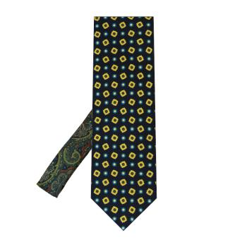 men - TIES - Printed Palacodino TI0002PC 100% seta stampata realizzata a mano in Italia.