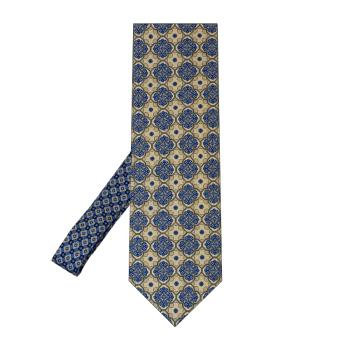 men - TIES - Printed Palacodino TI0005PC 100% seta stampata realizzata a mano in Italia.