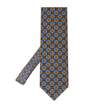 men - TIES - Printed Palacodino TI0006PC 100% seta stampata realizzata a mano in Italia.