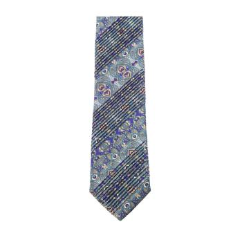 men - TIES - Pleated TI0008PL 100% Seta Made in Italy