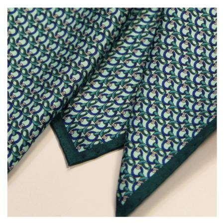 men - POCKET SQUARES - Hand Rolled AA0010OM Anello