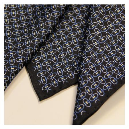 men - POCKET SQUARES - Hand Rolled AA0011OM Staffa