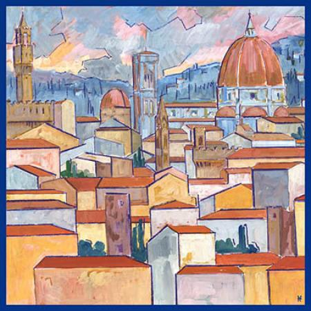 Small Square Firenze Cubista