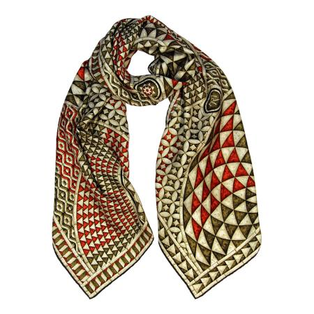 women - SCARVES AND LONG SCARVES - AESTOLATARSIA2020 TARSIA MARMOREA SAN GIOVANNI STOLA
