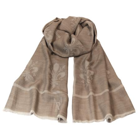 women - SCARVES AND LONG SCARVES - 70x200 Wool Silk EE0001GF Giglio Fiorentino