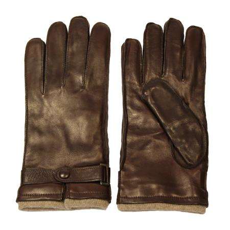 men - ACCESSORIES - GLOVES GU0003LI Nappa di pelle. Prodotto artigianalmente in Italia.
