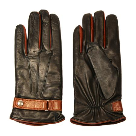 men - ACCESSORIES - GLOVES GU0004SC Nappa di pelle. Prodotto artigianalmente in Italia.