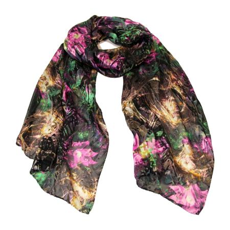 women - SCARVES AND LONG SCARVES - Devorè MF0001VY Splendore